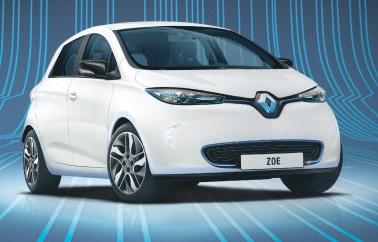 Voiture électrique Zoé de chez Renault
