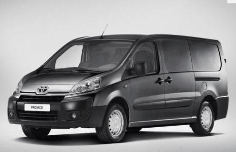 Utilitaire Proace de Toyota