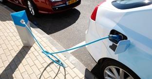 Borne véhicule électrique