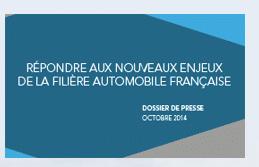 renforcer l'innovation de la filière automobile