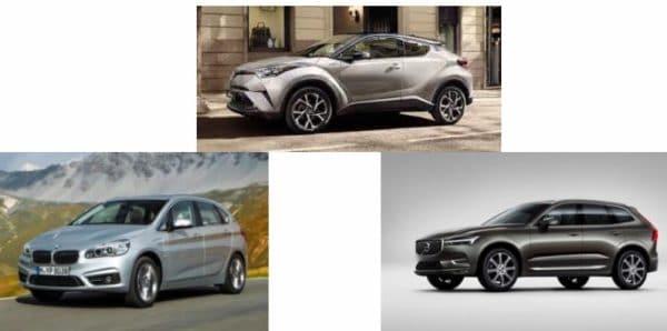 Comparaison coût véhicules thermiques et Hybrides